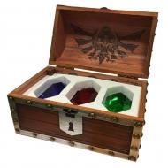 The Legend of Zelda - Coffret 3 presse-papiers Rupee Chest