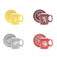 Game of Thrones - Set tasses Espresso Logos Collector's Edition