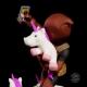 Marvel - Diorama Q-Fig Deadpool unicornselfie 10 cm