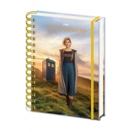 Doctor Who - Cahier à spirale A5 Wiro 13th Doctor