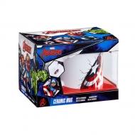 Marvel - Mug XL Bursting Captain America Shield
