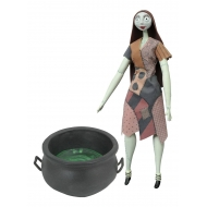 L'Étrange Noël de monsieur Jack - Poupée Cauldron Sally Deluxe Coffin Doll 36 cm