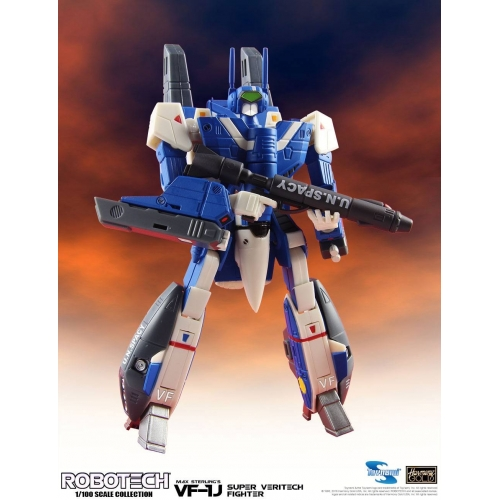 Robotech - Figurine Super Veritech Fighter Collection 1/100 VF-1J Max Sterling 15 cm