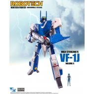 Robotech - Figurine Veritech Micronian Pilot Collection 1/100 Max Sterling VF-1J 15 cm