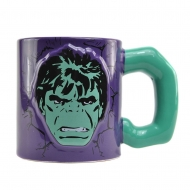 Marvel Comics - Mug Embossed Hulk