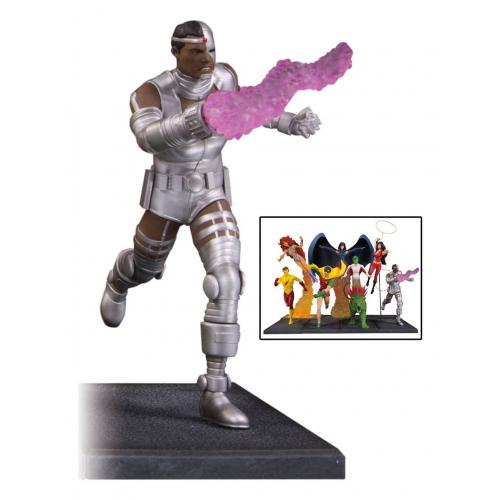 Teen Titans - Statuette Cyborg (partie 4 sur 7) 19 cm