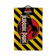 Jurassic Park - Paillasson Warning 40 x 60 cm