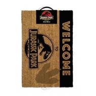 Jurassic Park - Paillasson Welcome To Jurassic Park 40 x 60 cm