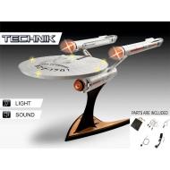 Star Trek - Maquette sonore et lumineuse Level 5 1/600 USS Enterprise NCC-1701