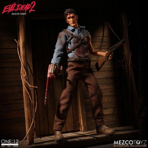 Evil Dead 2 - Figurine 1/12 Ash 17 cm