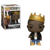 Notorious B.I.G - Figurine POP! Notorious B.I.G avec sa couronne 9 cm