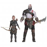 God of War - (2018) pack 2 figurines Ultimate Kratos & Atreus 13-18 cm