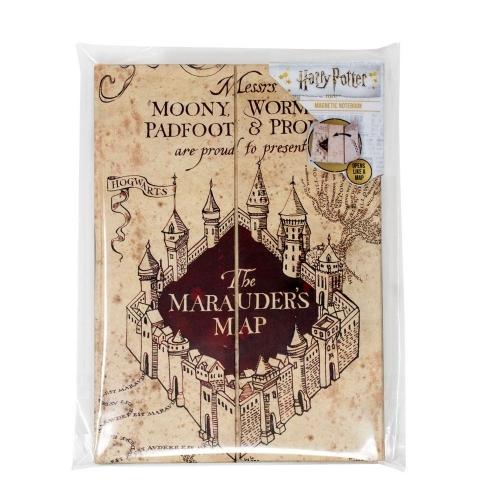 Harry Potter - Carnet de notes A5 The Marauder's Map
