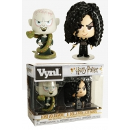 Harry Potter - Pack 2 Figurines VYNL Bellatrix & Voldemort 10 cm