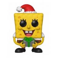 Bob l'éponge - Figurine POP! SpongeBob Xmas 9 cm