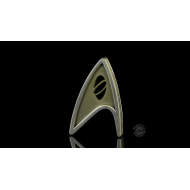 Star Trek Beyond - Réplique 1/1 Starfleet badge Science Division magnétique