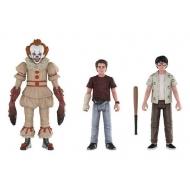 « Il » est revenu 2017 - Pack 3 figurines Pennywise, Richie, Eddie 10 cm