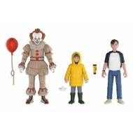 « Il » est revenu 2017 - Pack 3 figurines Pennywise, Bill, Georgie 10 cm