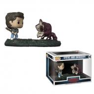 Stranger Things - Pack 2 Figurines POP! Bobble Head Steve & Demodog 9 cm