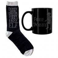 Harry Potter - Mug et chaussettes Set Free Dobby