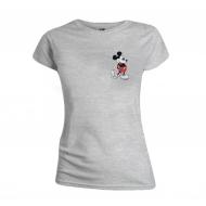 Mickey Mouse - T-Shirt femme Kickin Retro Chest