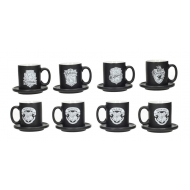 Harry Potter - Pack 4 tasses Espresso Emblems
