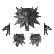 The Witcher 3 Wild Hunt - Sculpture Wolf 15 x 15 cm