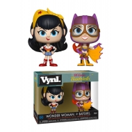 DC Comics Bombshells - Pack 2 figurines Vnyl. Wonder Woman + Batgirl 10 cm
