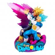 Dragonball Super - Figurine Super Master Stars Piece Vegeta & Trunks Special Color Version 18 cm