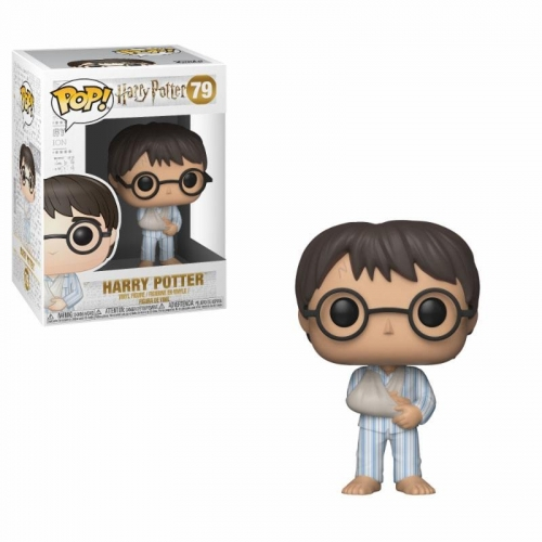 Harry Potter - Figurine POP! Harry Potter (PJs) 9 cm