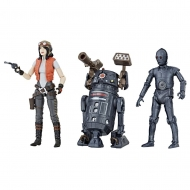 Star Wars Premium Vintage Collection - Pack 3 figurines Doctor Aphra Comic Set Exclusive 10 cm