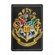 Harry Potter - Panneau métal 3D Hogwarts 20 x 30 cm