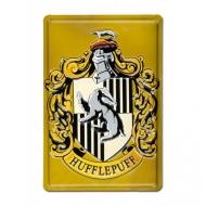 Harry Potter - Panneau métal 3D Hufflepuff 20 x 30 cm
