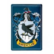 Harry Potter - Panneau métal 3D Ravenclaw 20 x 30 cm