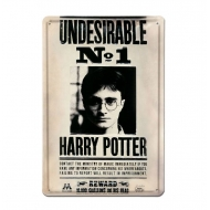 Harry Potter - Panneau métal 3D Undesirable No 1 20 x 30 cm