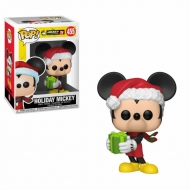 Mickey Mouse 90th Anniversary - Figurine POP! Holiday Mickey 9 cm