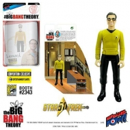 The Big Bang Theory - Figurine avec diorama Leonard TOS EE Exclusive 10 cm