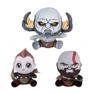 God of War - Pack 3 peluches Stubbins 10-15 cm