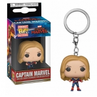 Captain Marvel - Porte-clés Pocket POP! Captain Marvel 4 cm