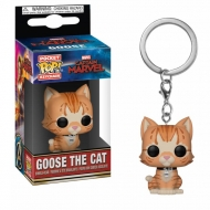 Captain Marvel - Porte-clés Pocket POP! Goose the Cat 4 cm