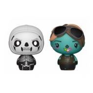 Fortnite - Pack 2 figurines Pint Size Heroes Skull Trooper & Ghoul Trooper 6 cm