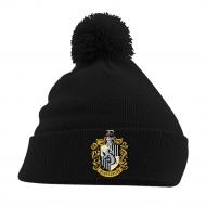 Harry Potter - Bonnet Pom Pom Hufflepuff Crest