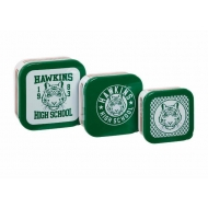 Stranger Things - Boîtes de rangement Hawkins High School