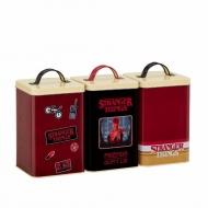 Stranger Things - Boîtes de rangement Retro Logo
