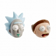 Rick & Morty - Pack 2 coquetiers céramique Rick & Morty