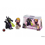 Disney - Pack 2 figurines Metalfigs Diecast Maleficent & Briar Rose 10 cm