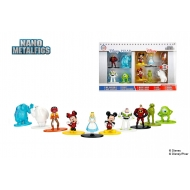Disney - Pack 10 figurines Diecast Nano Metalfigs 4 cm