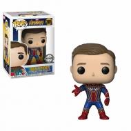 Avengers Infinity War - Figurine POP! Iron Spider Unmasked BoxLunch Exclusive 9 cm