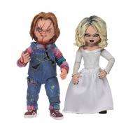 La Fiancée de Chucky - Pack 2 figurines Ultimate Chucky & Tiffany 10 cm