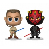 Star Wars - Pack 2 figurines Vinyl Darth Maul & Obi Wan 10 cm